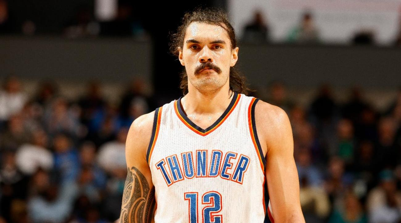 Thunder's Steven Adams apologizes for 'quick little monkeys' comment