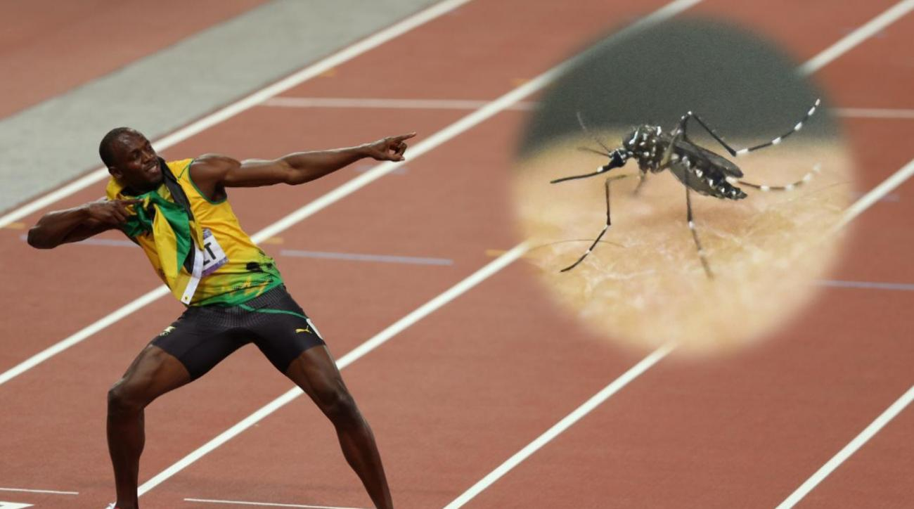 Jamaican sprinter Usain Bolt not concerned about Zika virus  IMAGE
