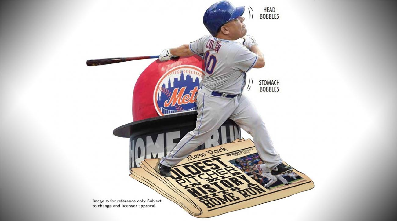Mustard Minute: A Bartolo Colon belly-shaking bobblehead exists IMG
