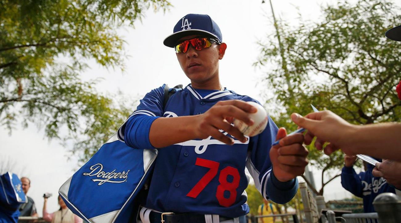 Teen pitcher Julio Urias to make debut for Dodgers IMAGE