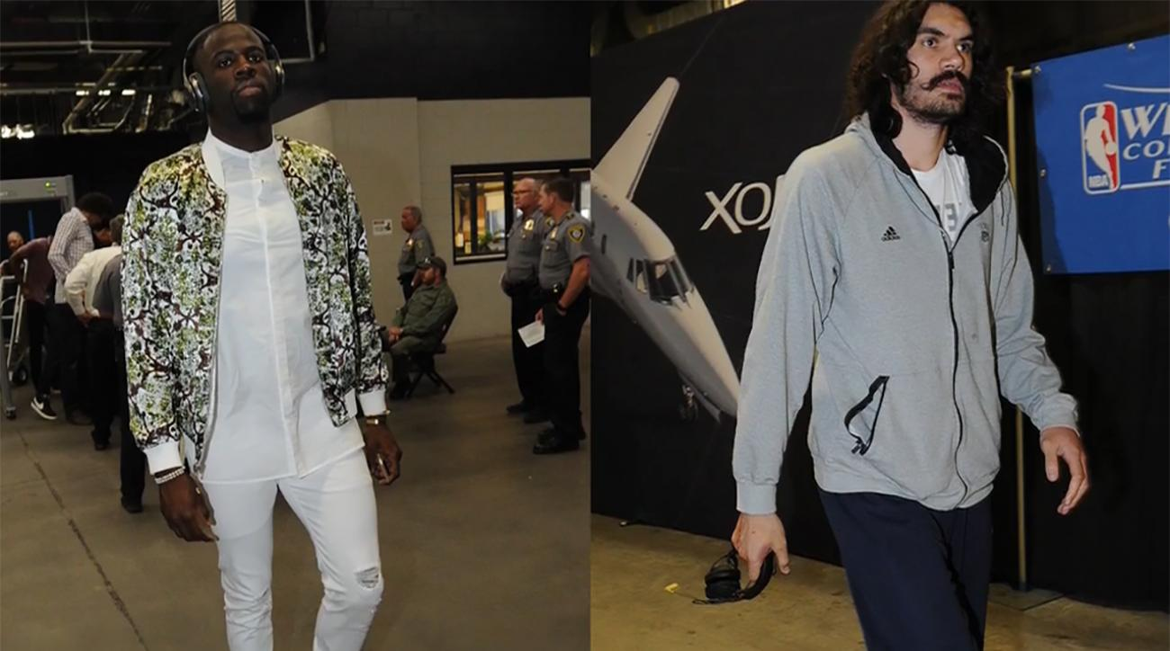 Sports Style Swipe: Draymond Green's style vs. Steven Adams' style and more IMG