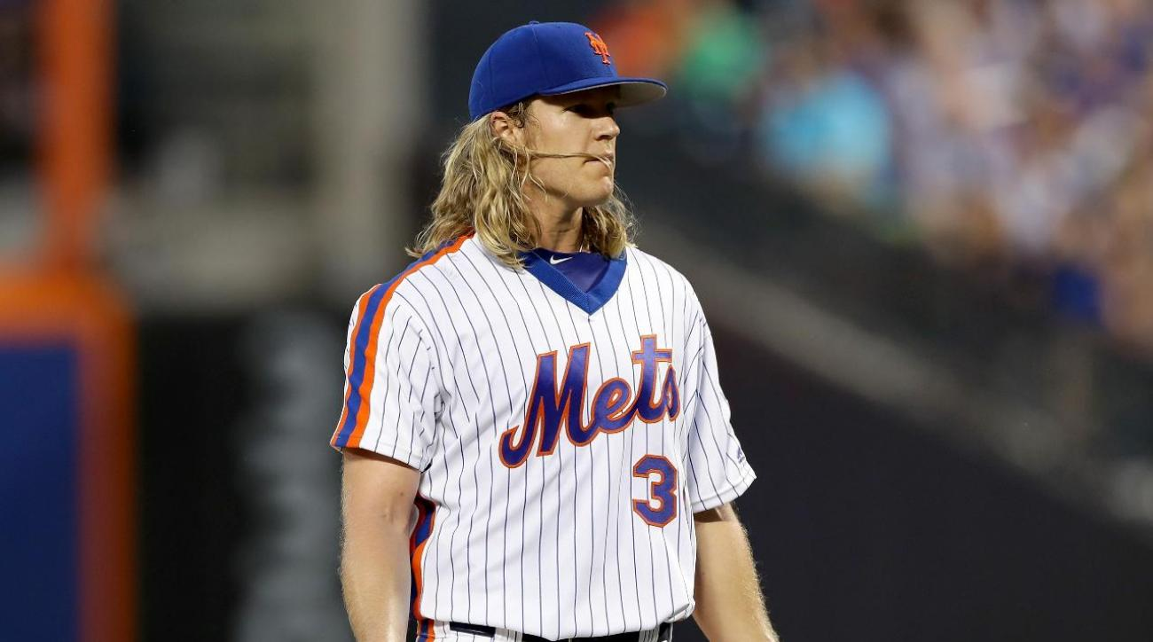 c6eb619924c VIDEO - Noah Syndergaard ejected for pitch behind Chase Utley
