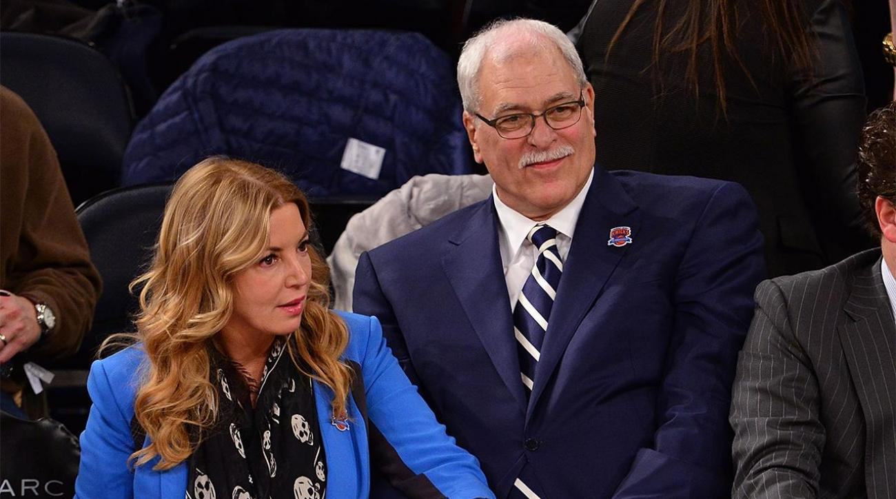 Jeanie Buss: Phil Jackson 'committed to New York for many years' IMAGE