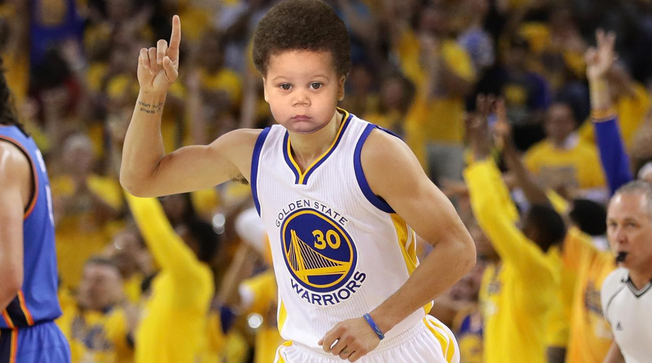 Mustard Minute: Steve Kerr says Steph Curry looks like he's 12; We think he looks younger IMG