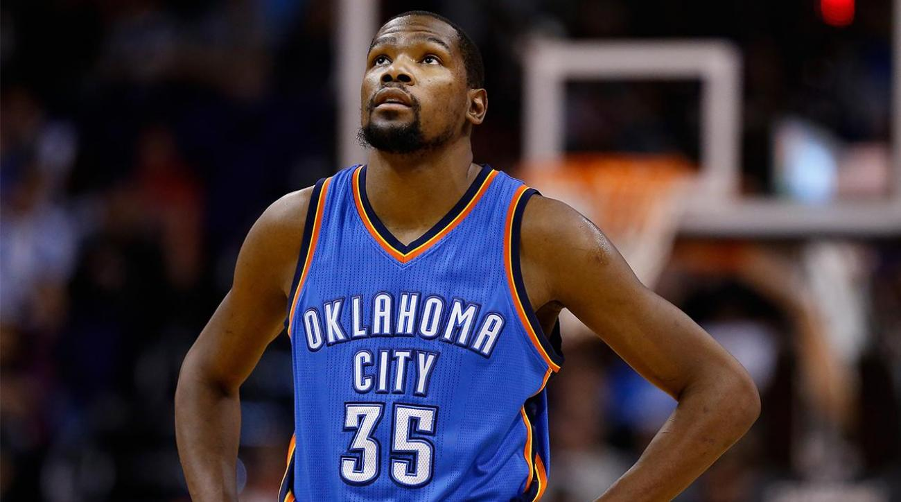 Kevin Durant on free agency: 'I haven't even thought of it'