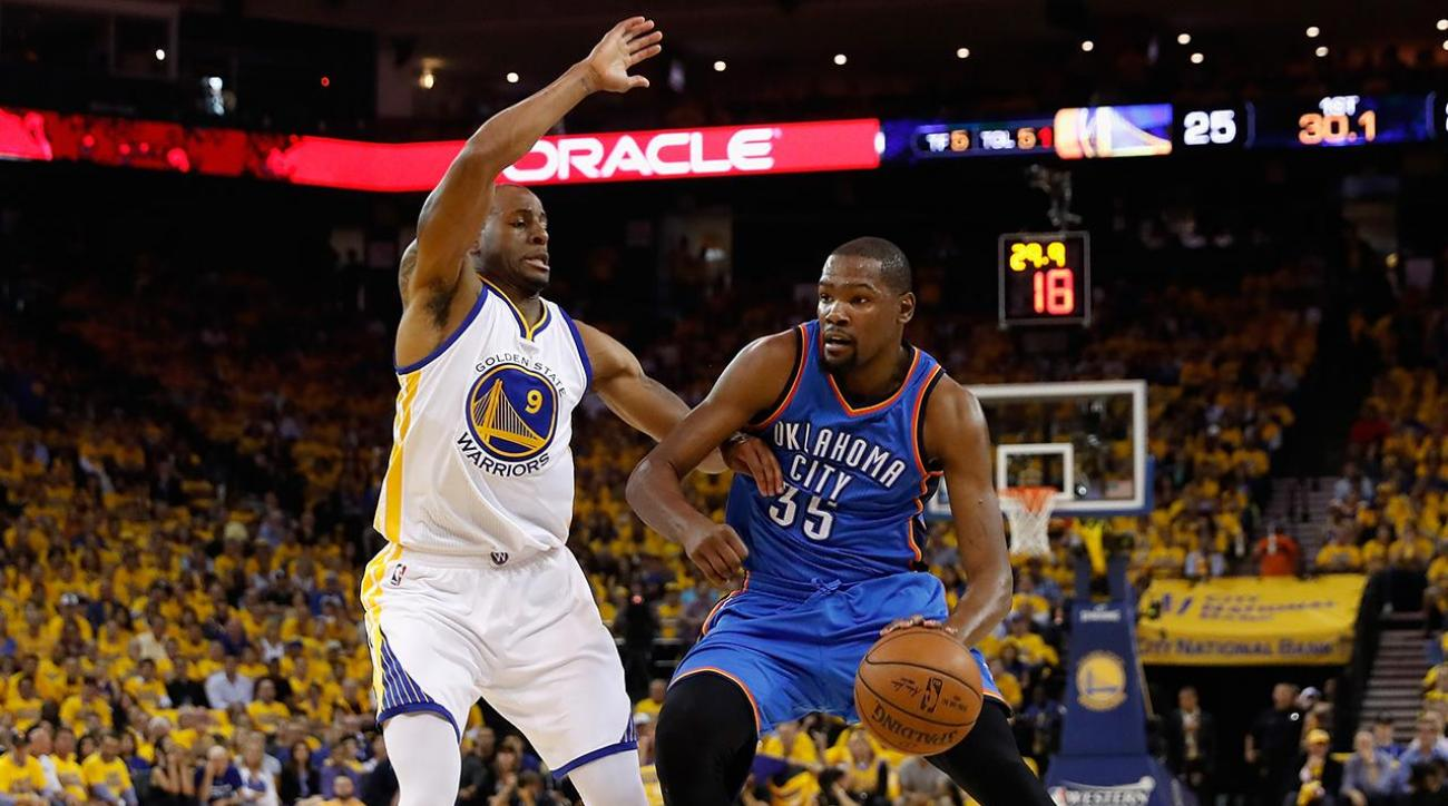 Andre Iguodala on Kevin Durant: 'Must be fun playing with a guy like that'