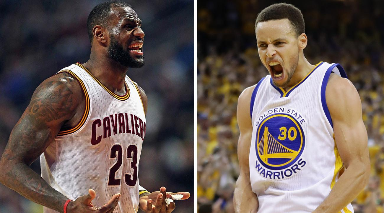 1664fe5eb6d NBA Finals  LeBron eyes revenge vs. Stephen Curry s Warriors