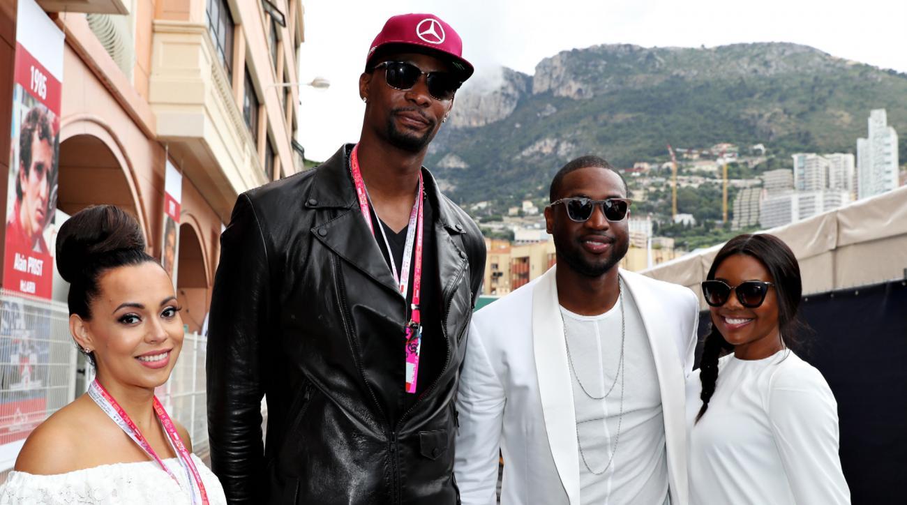 Sports Style Swipe: Chris Bosh and Dwyane Wade's Monaco summer vacation style IMG