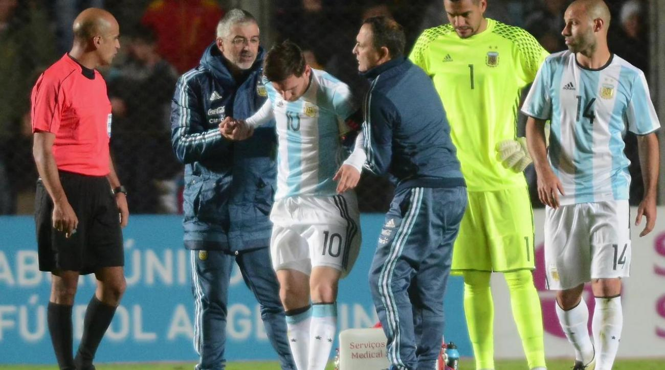 Lionel Messi won't start in Argentina's Copa America opener