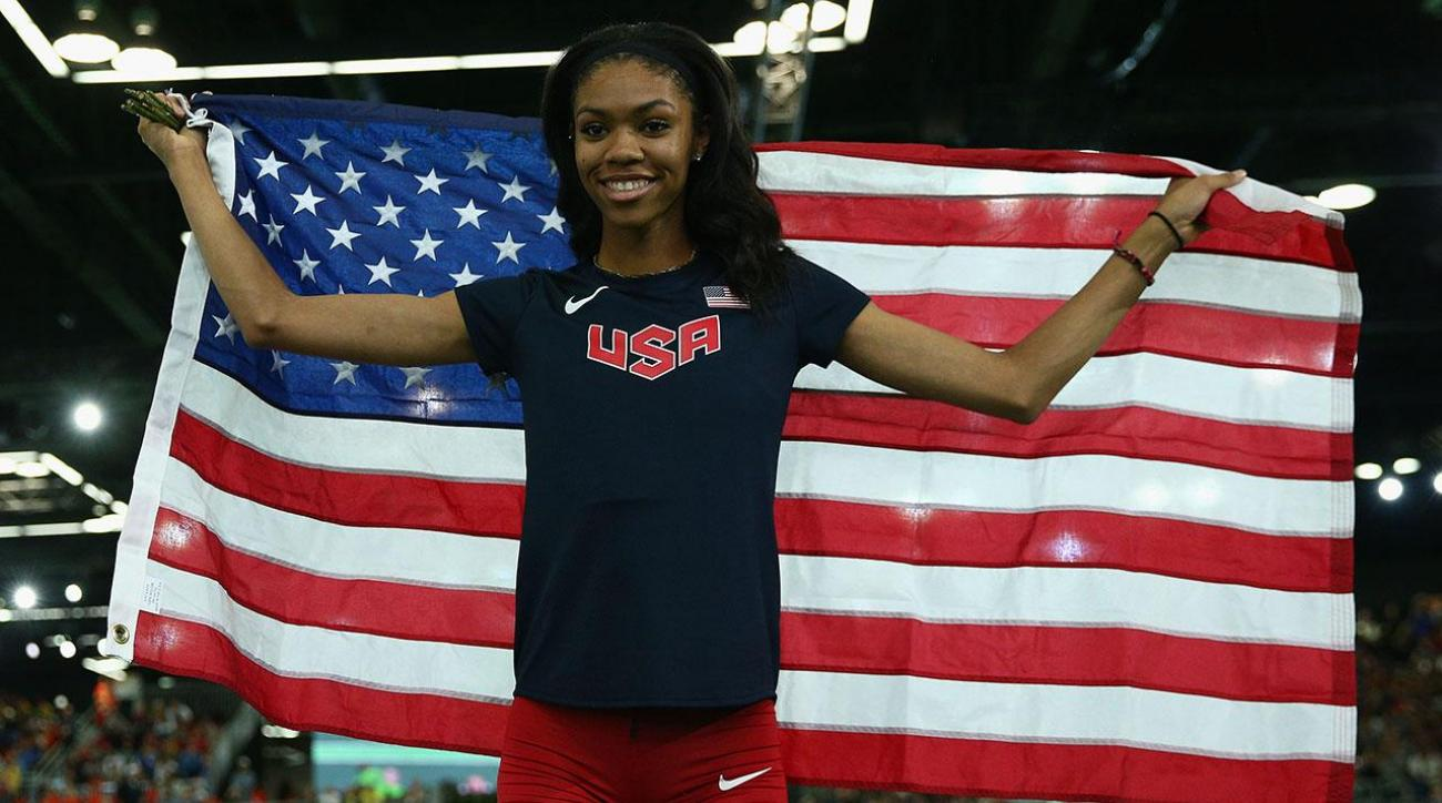 Get to know Olympian Vashti Cunningham