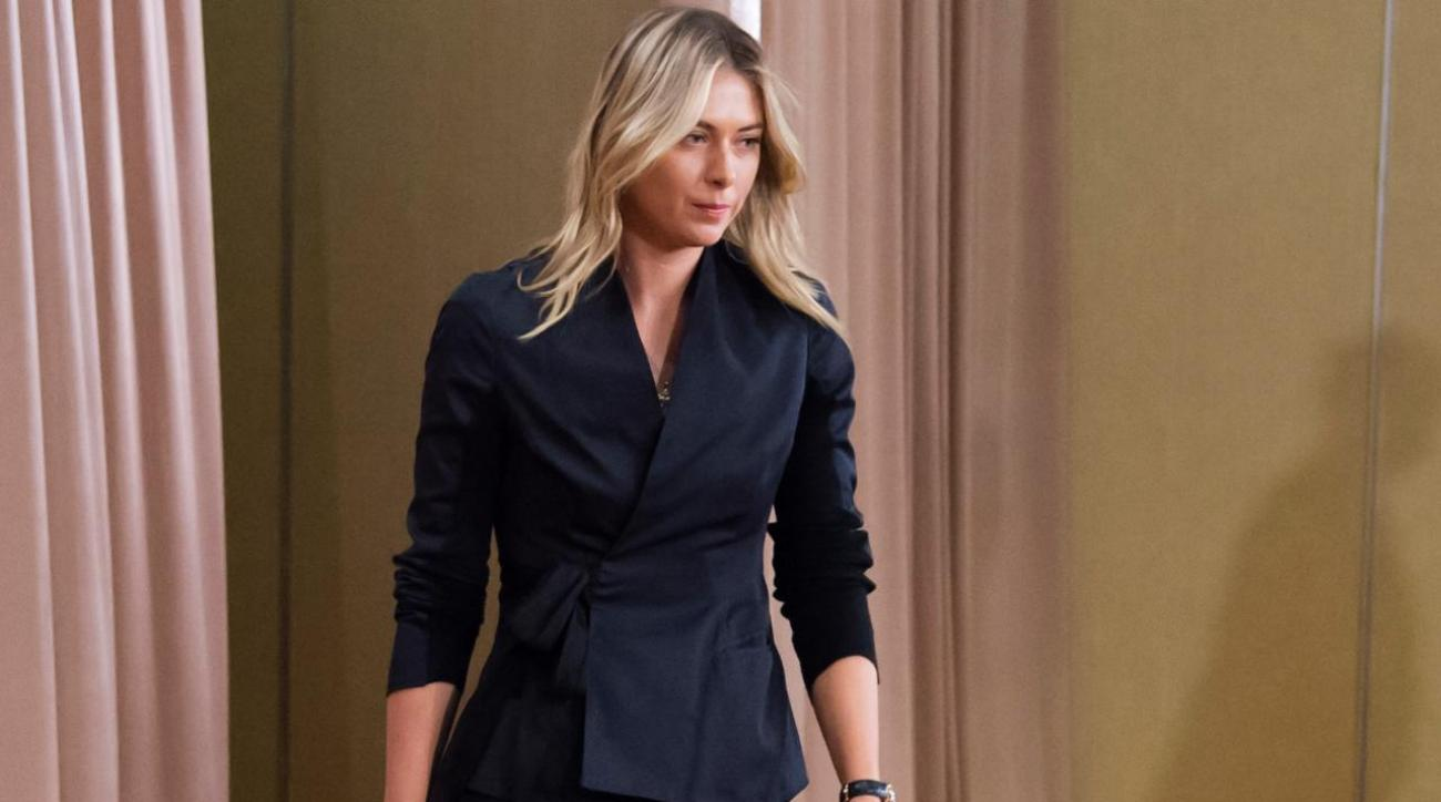 Maria Sharapova suspended two years for doping