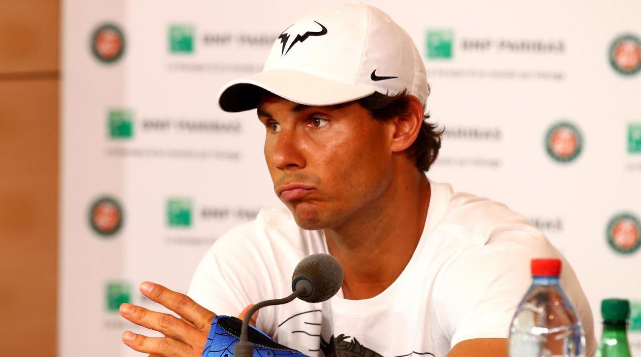Rafael Nadal drops out of Wimbledon with wrist injury