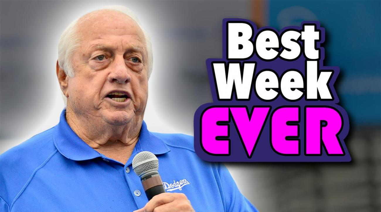 Mustard Minute: Why Tommy Lasorda is having the best week ever! IMG