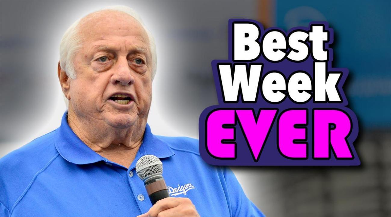 Mustard Minute: Why Tommy Lasorda is having the best week ever! IMG