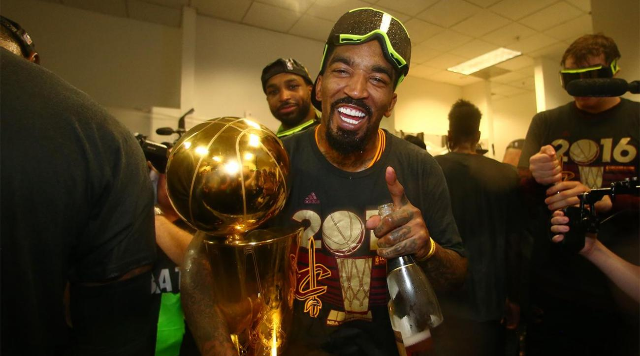 J.R. Smith is this year's after-party MVP IMAGE