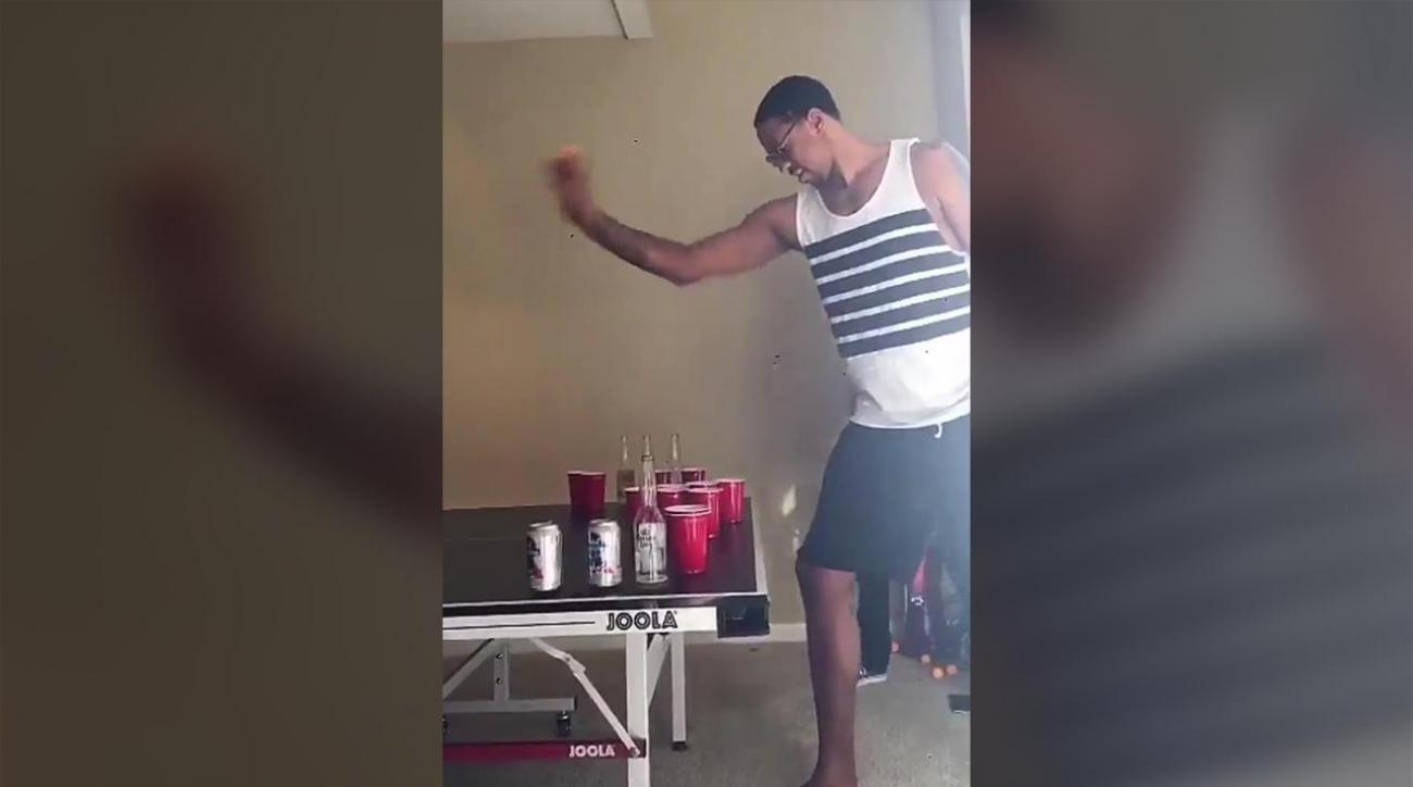 Mustard Minute: Cavaliers' Channing Frye apparently cheats at beer pong IMG