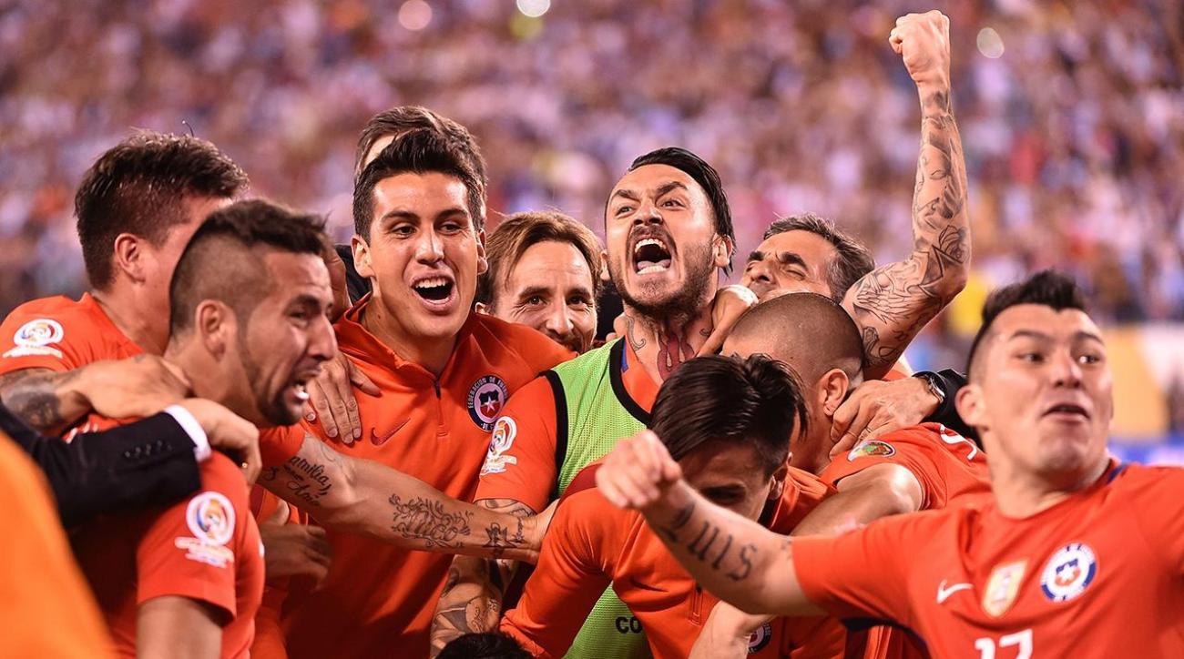 Chile wins Copa America on PKs; cruel deja vu for Messi, Argentina
