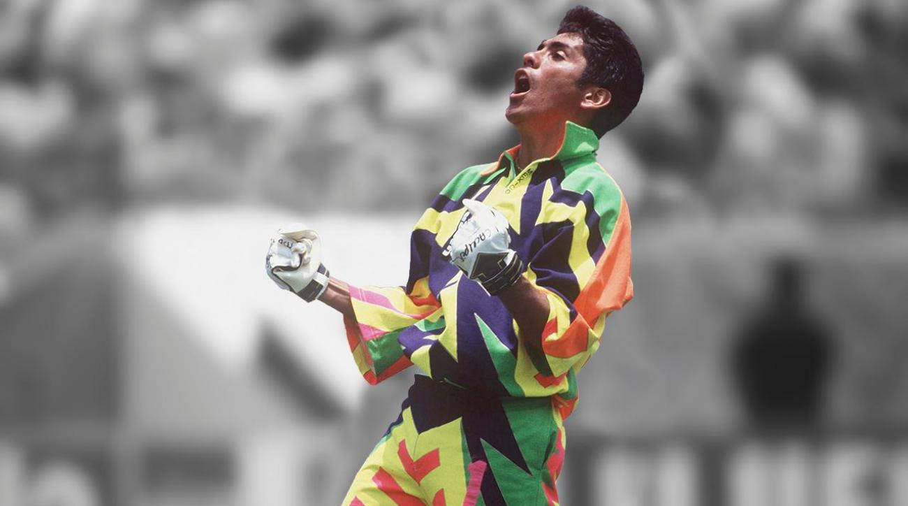 Jorge Campos brought unique flair to the soccer pitch