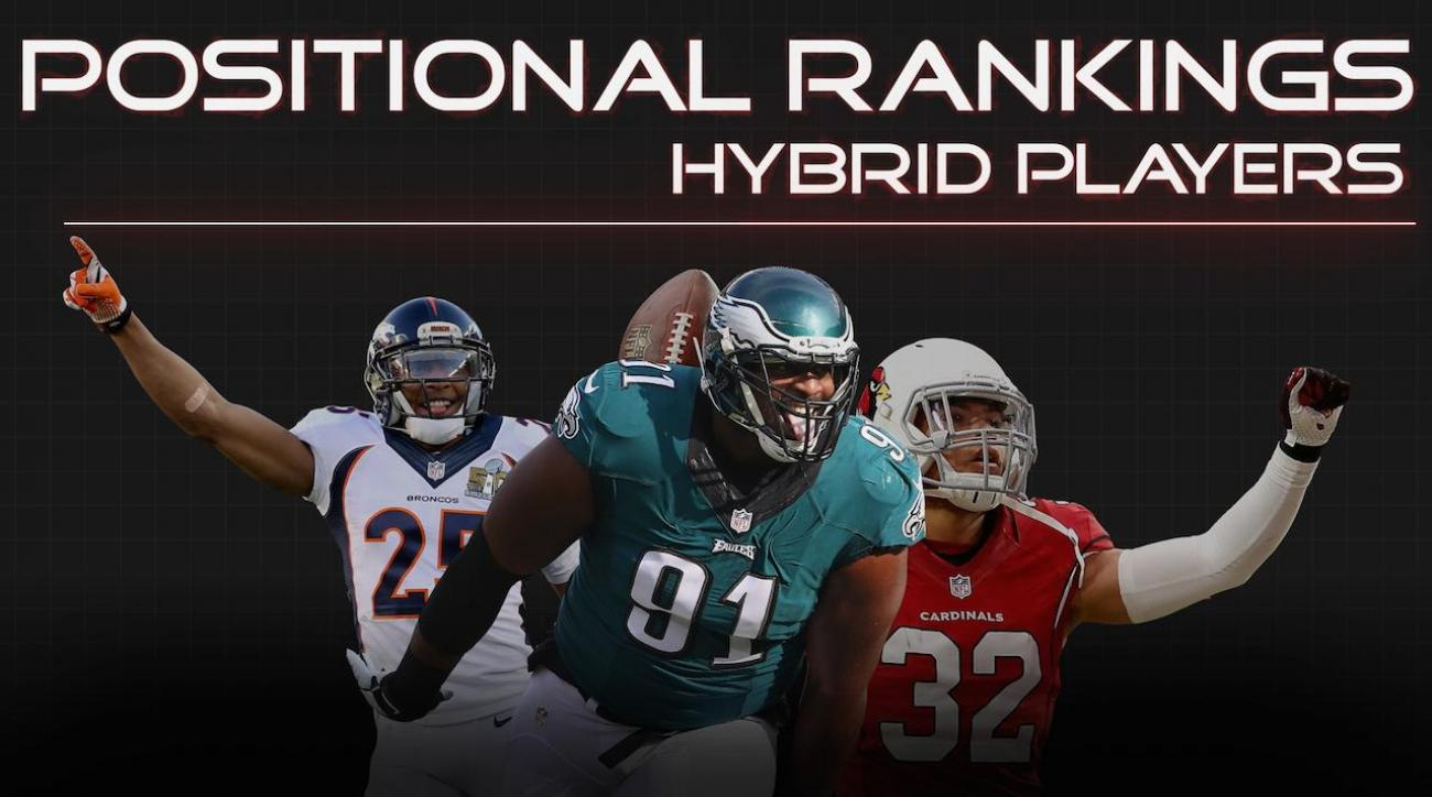 Positional Rankings: Hybrid players