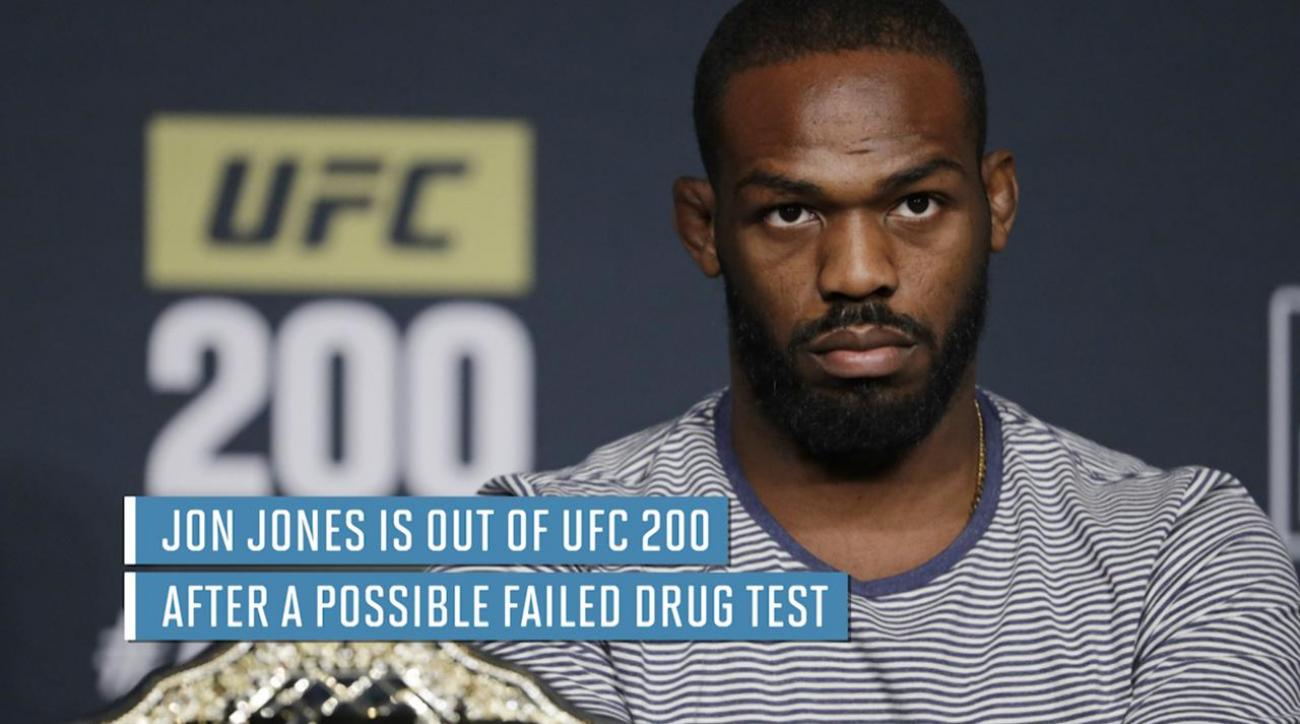 Jon Jones out of UFC 200 after possible doping violation