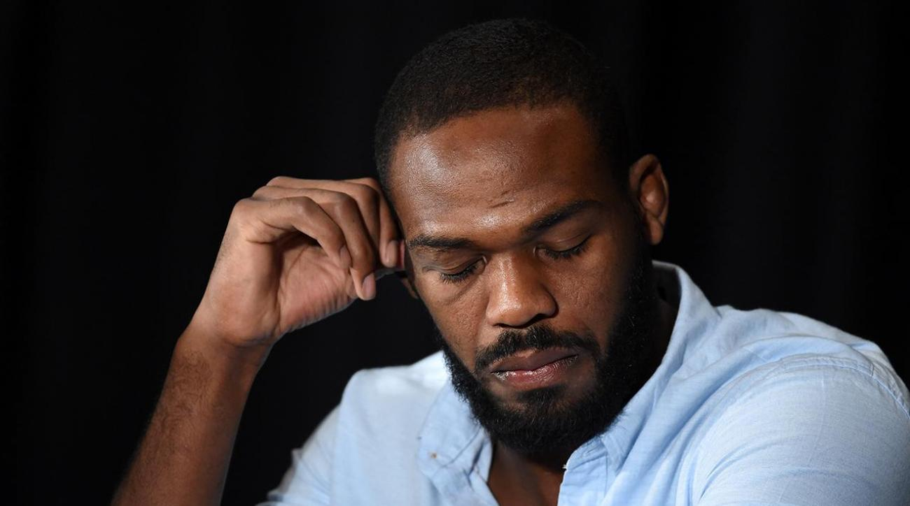 Jon Jones wept at press conference when discussing doping violation