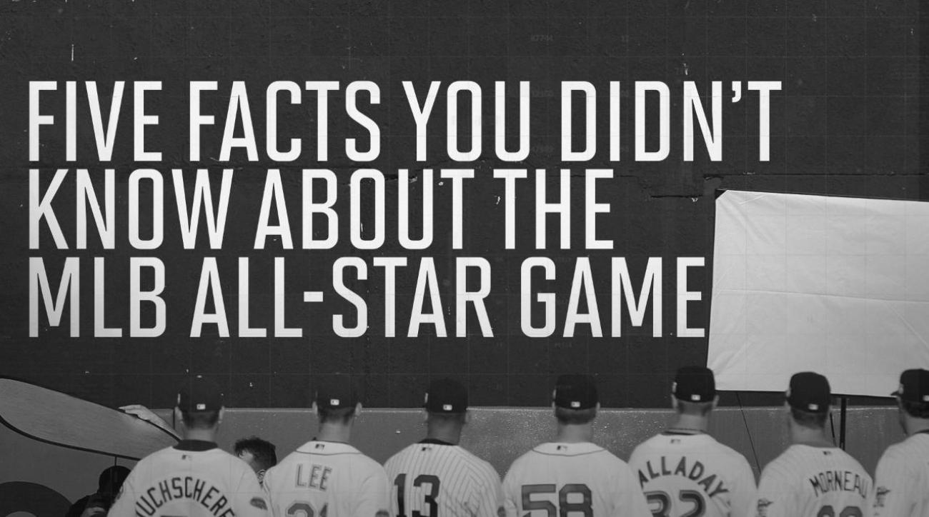 Five facts you didn't know about the MLB All-Star Game