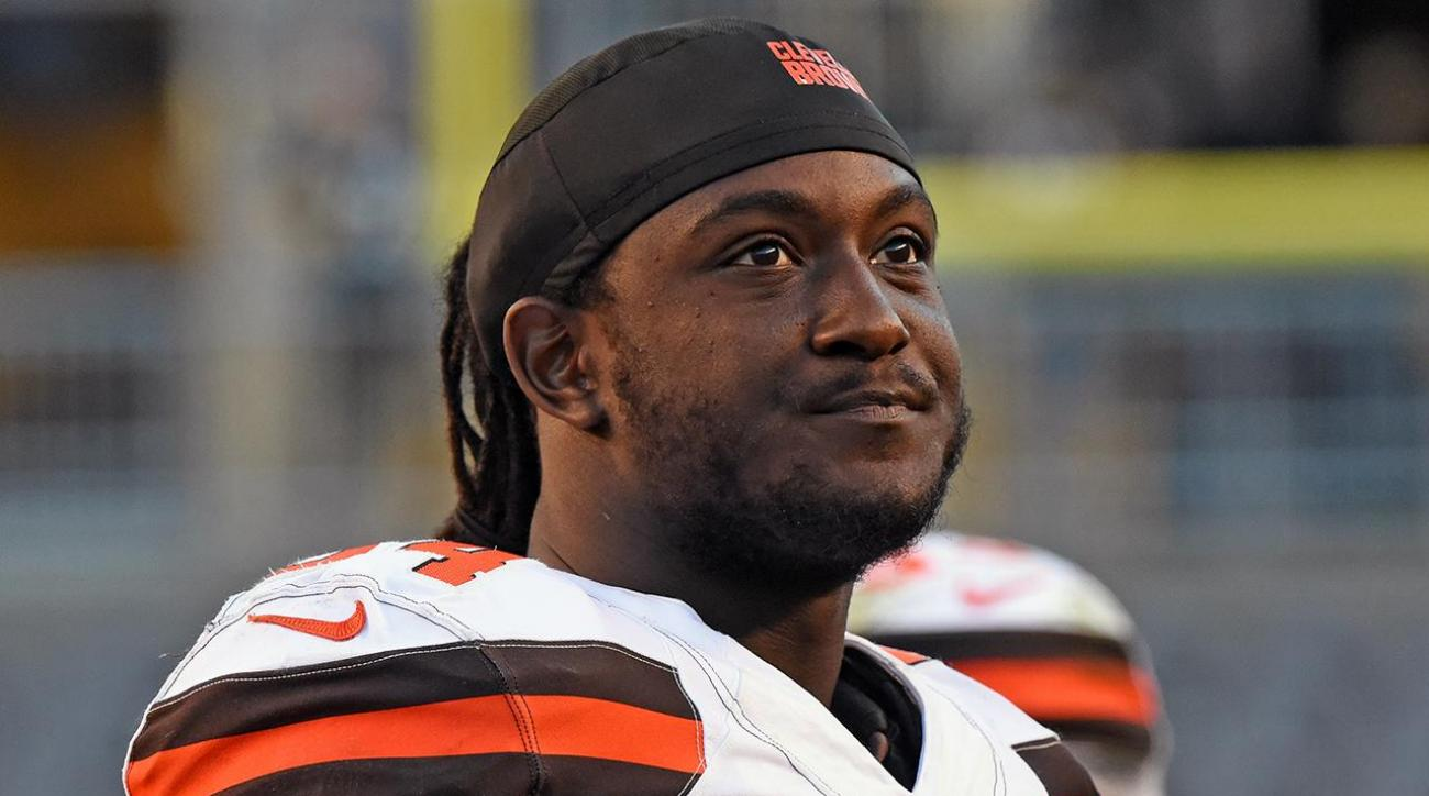 Browns call Isaiah Crowell police Instagram 'extremely disturbing' IMAGE