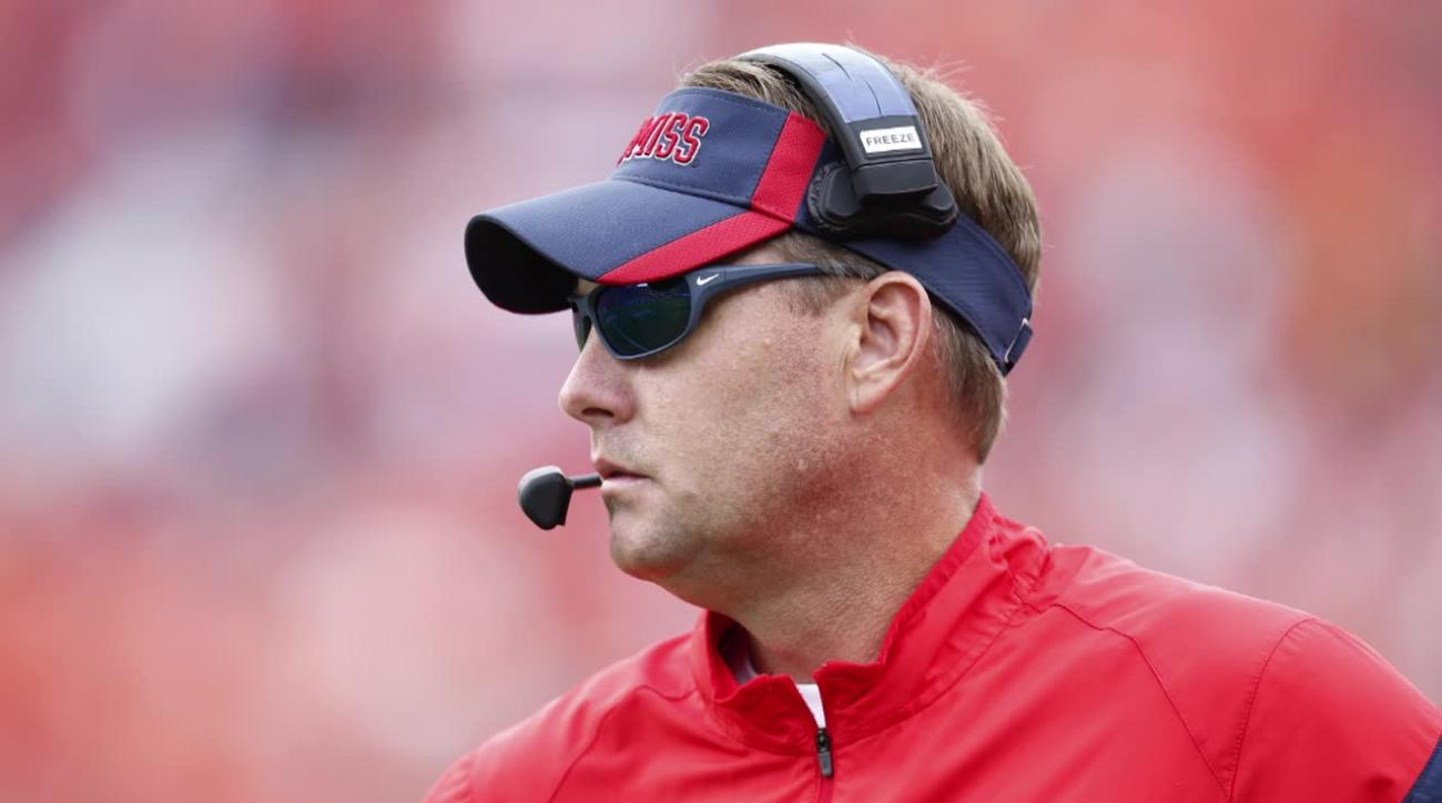 Hugh Freeze recently received letter from Laremy Tunsil