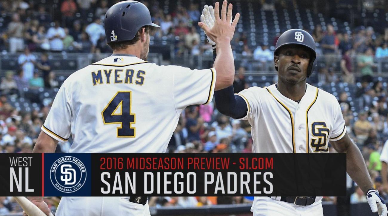 Verducci: San Diego Padres 2016 midseason preview