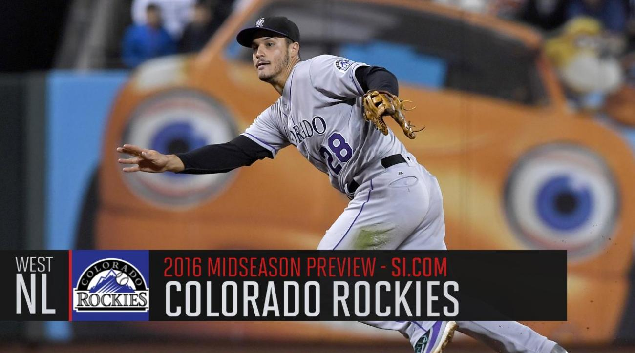 Verducci: Colorado Rockies 2016 midseason preview