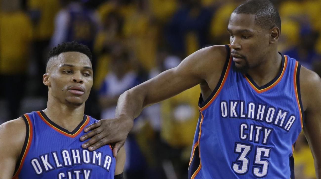 Kevin Durant: Relationship with Russell Westbrook won't be the same
