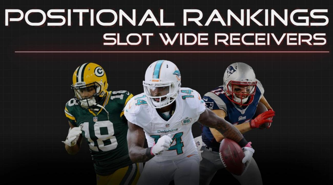 Positional Rankings: Slot wide receivers