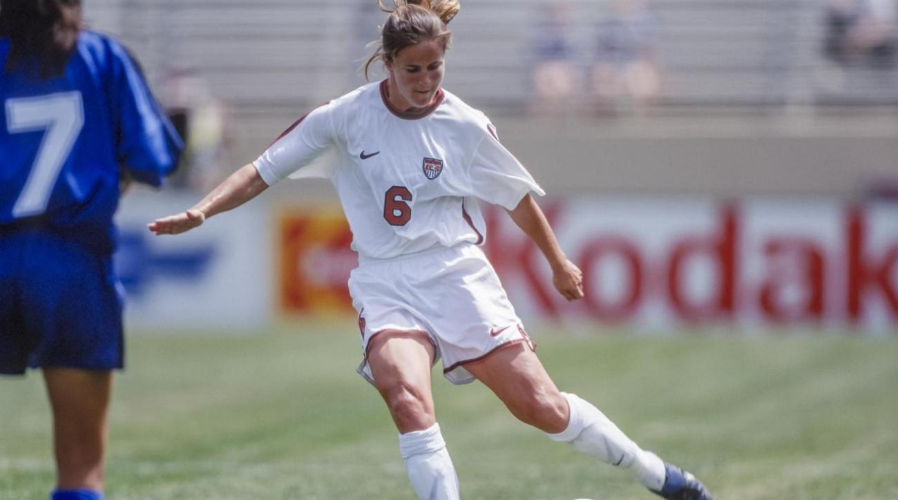 Brandi Chastain's favorite memory isn't her 1999 World Cup-clinching ... Brandi Chastain Sports Illustrated