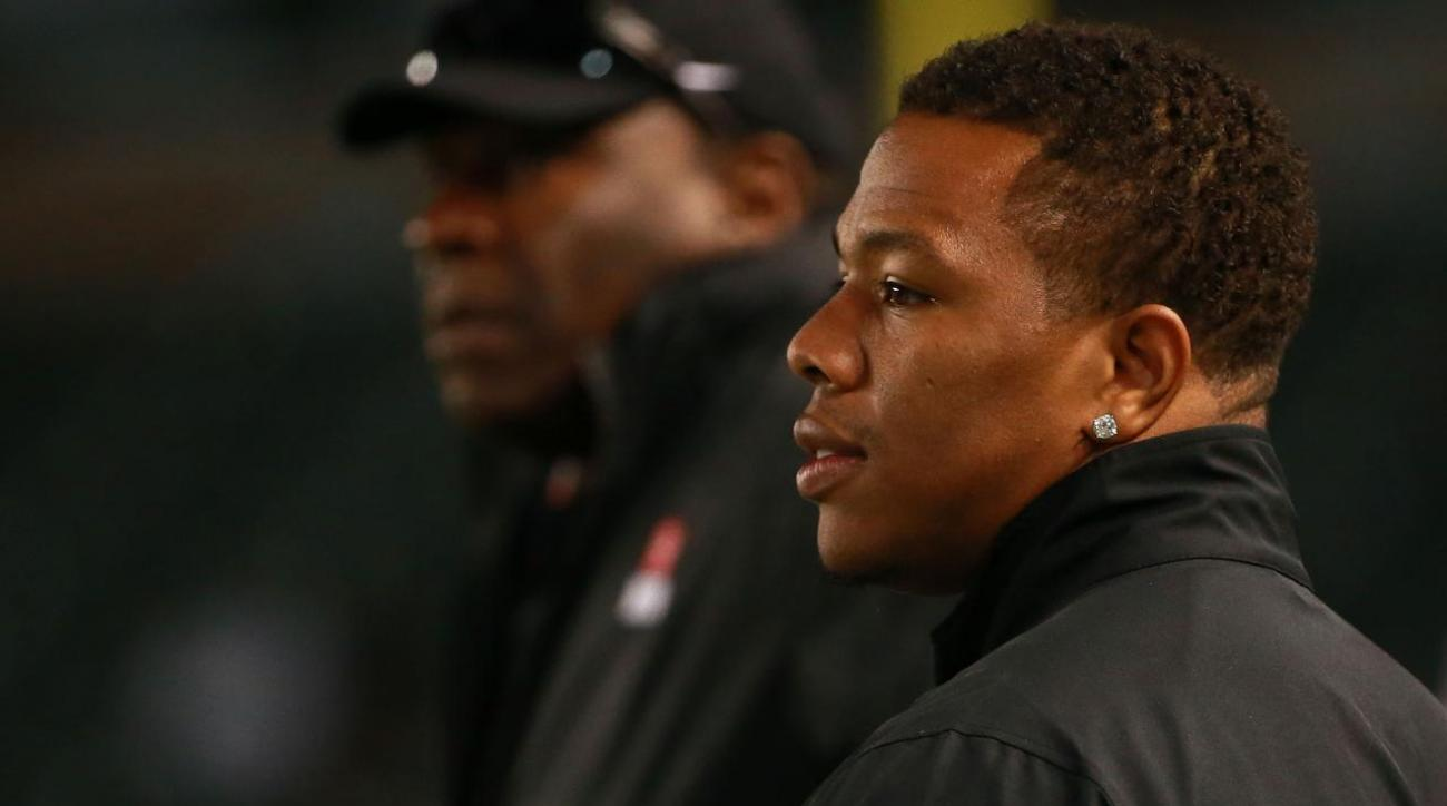 Ray Rice promises to donate salary to domestic violence causes if signed by NFL team