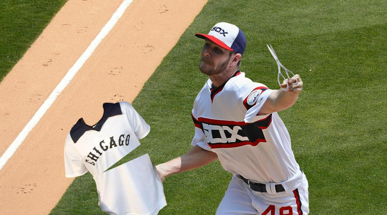 White Sox P Chris Sale apologizes for jersey incident