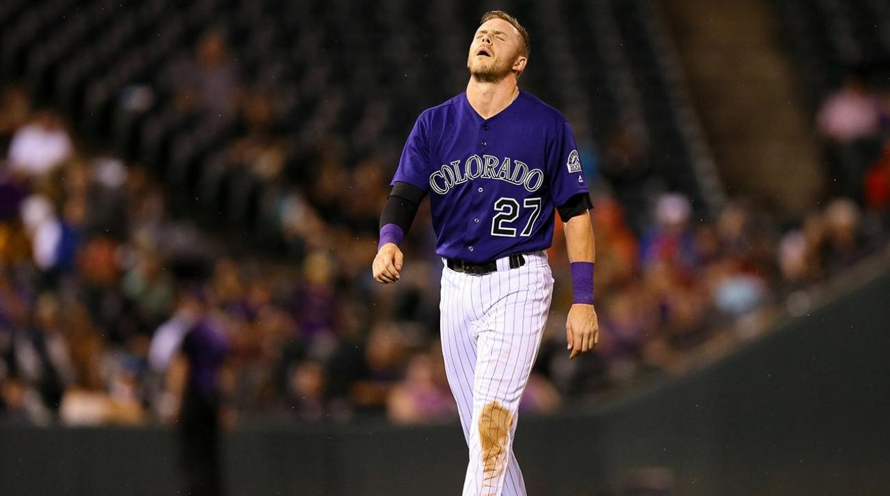 Rockies' Trevor Story could miss remainder of season with torn thumb ligament