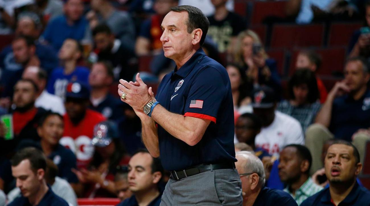 Mike Krzyzewski on coaching Team USA in final Olympics IMG