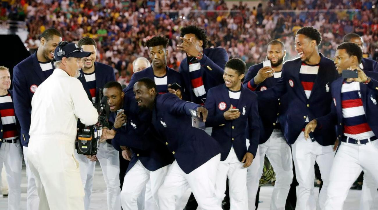 Check out what the athletes wore at the Opening Ceremony