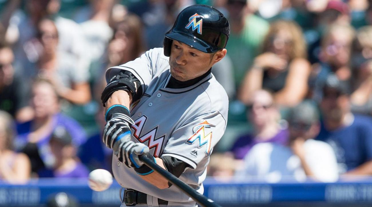 Ichiro joins the 3,000 hit club