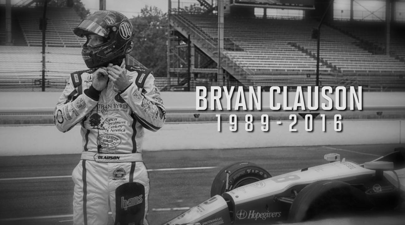 Driver Bryan Clauson dies from injuries sustained in race crash IMAGE