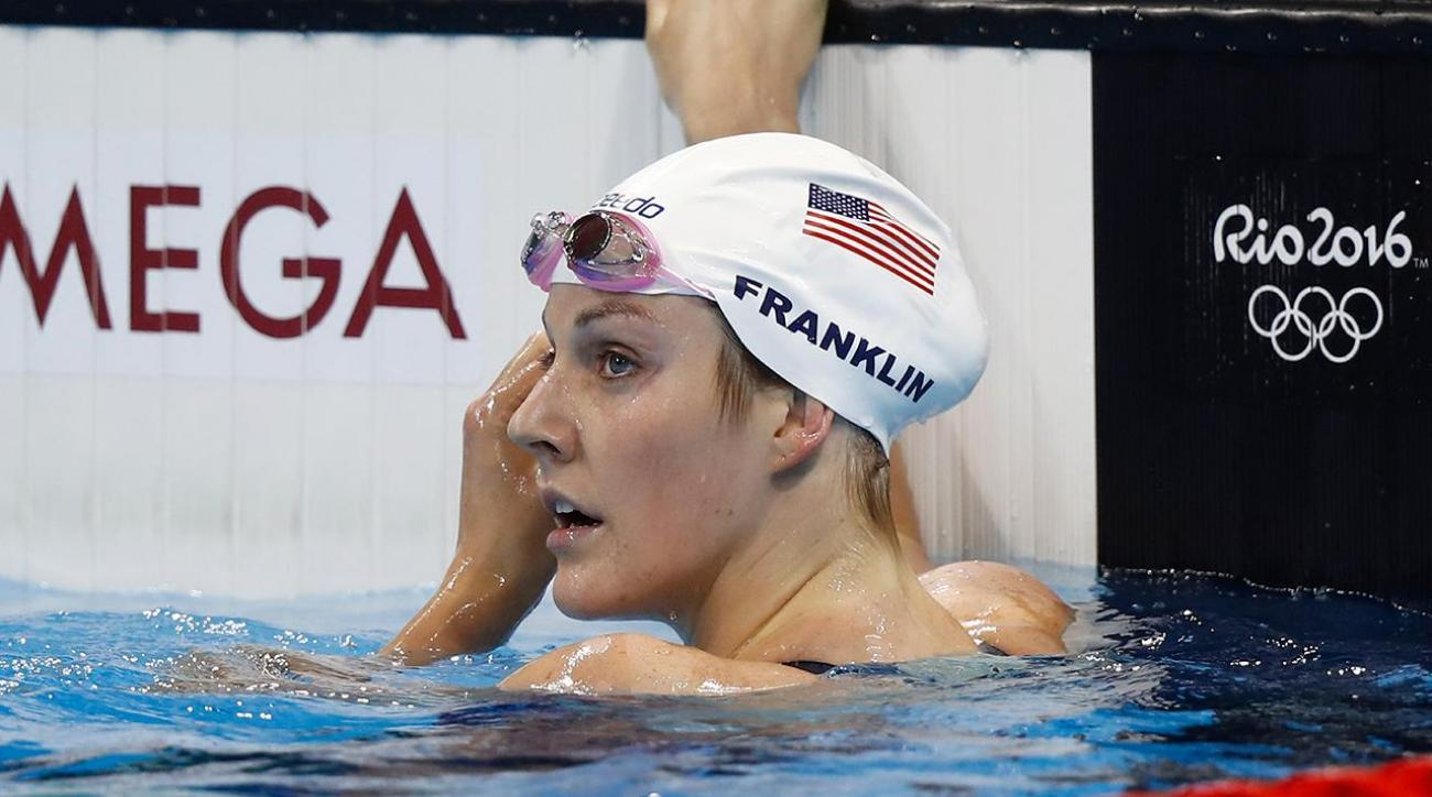 Missy Franklin misses 200M Freestyle Final on a wild Monday in Rio