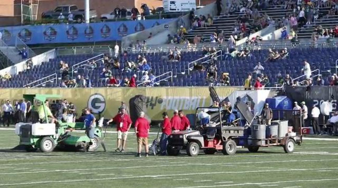 NFL executive Troy Vincent takes responsibility for Hall of Fame Game field conditions