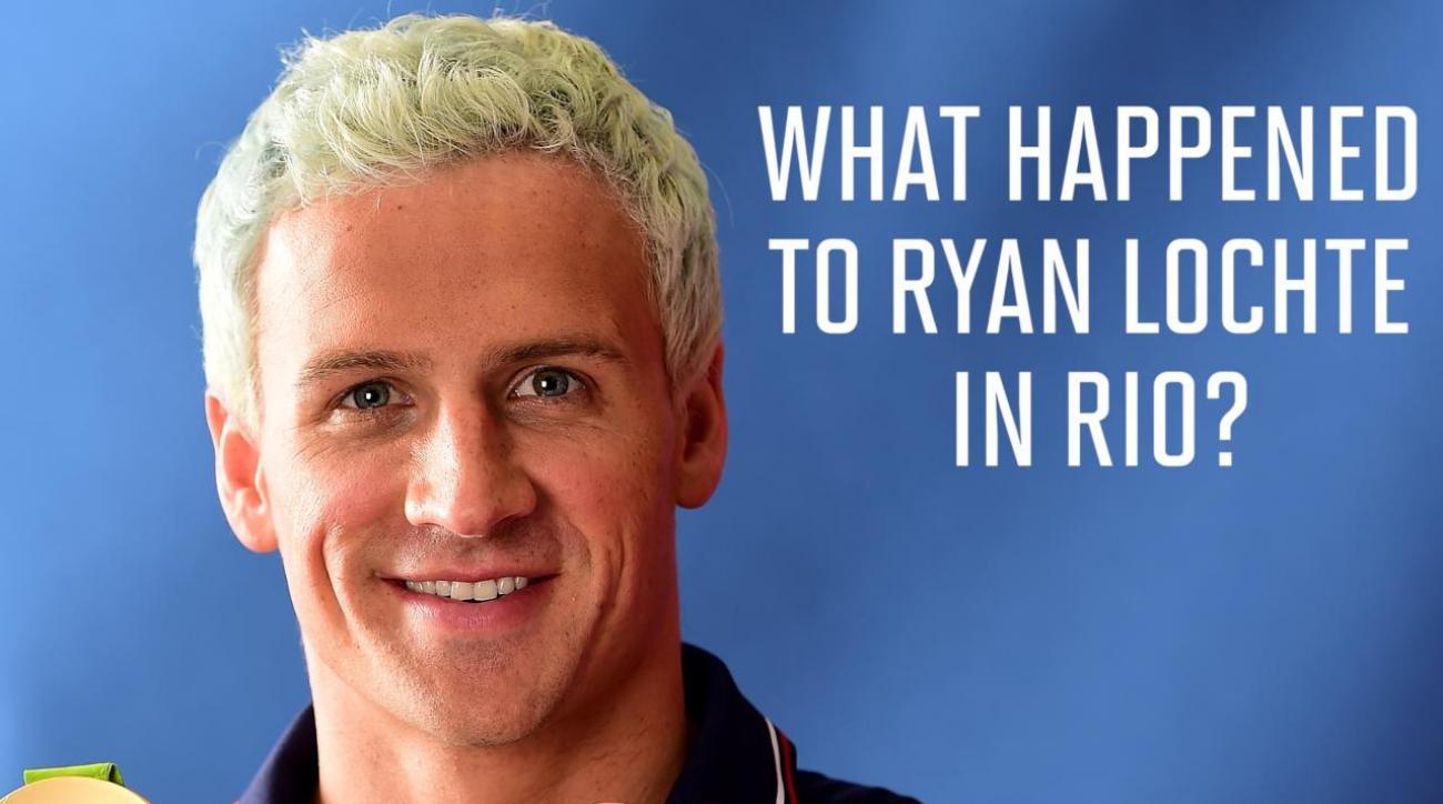 What happened to Ryan Lochte in Rio?  IMAGE