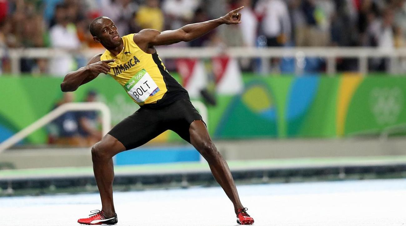 Usain Bolt sprints to 200m Gold, Olympic history
