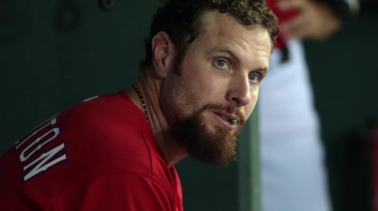 Texas Rangers release outfielder Josh Hamilton