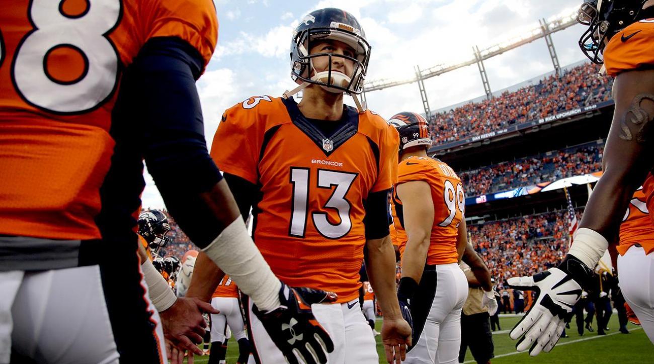 Broncos name Trevor Siemian starting quarterback