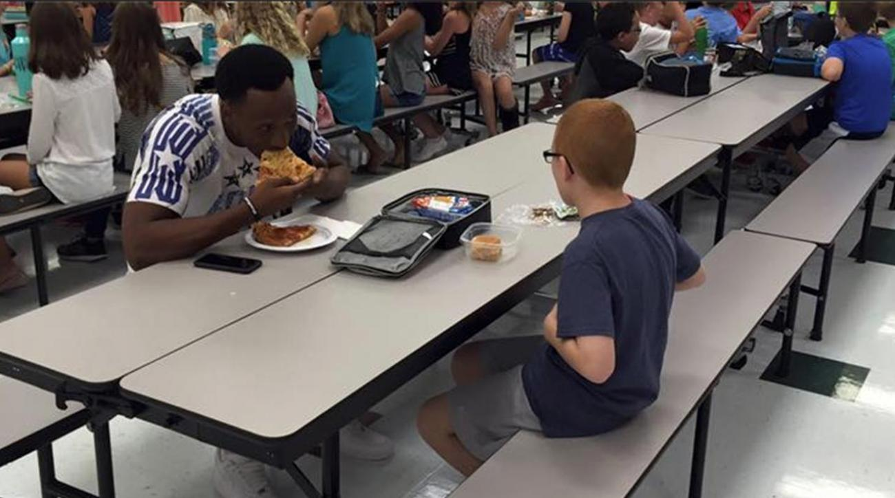 FSU's Travis Rudolph made incredible gesture to boy with autism