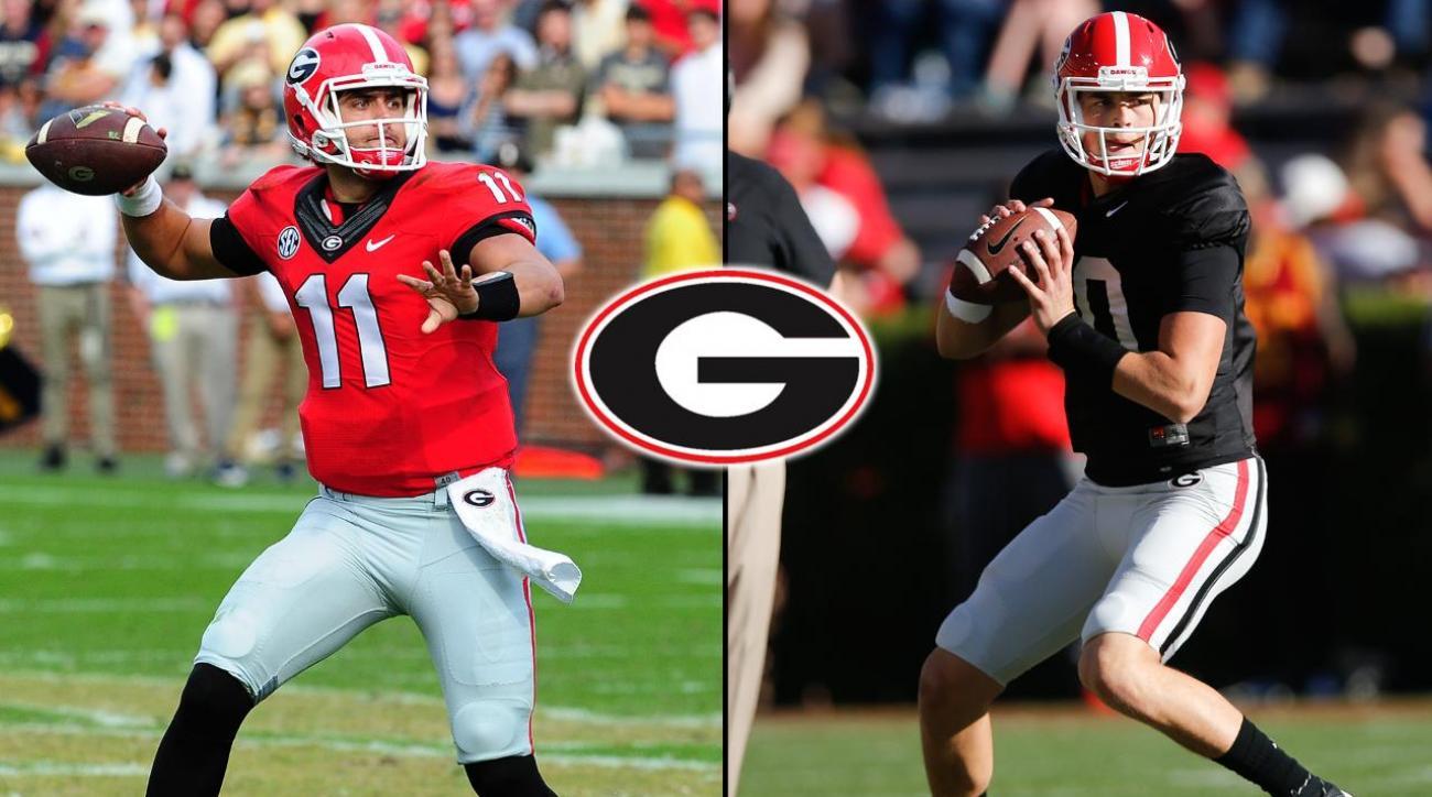 Report: Georgia names Greyson Lambert starting QB vs. North Carolina IMAGE