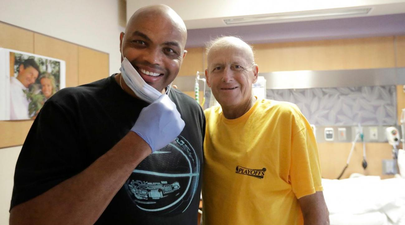 Charles Barkley ignores his doctor's orders to visit Craig Sager in hospital