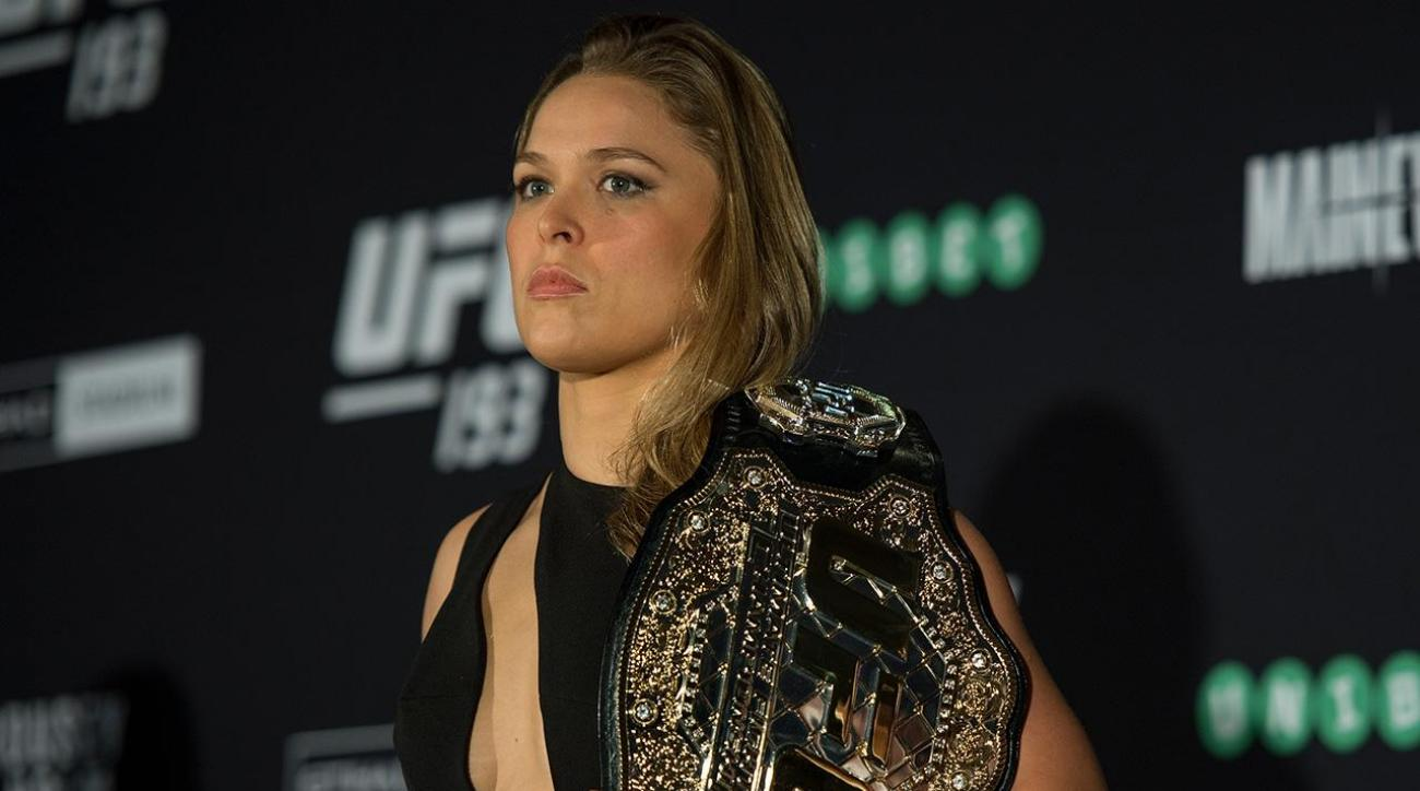 Ronda Rousey says MMA is 'most responsible' form of violence
